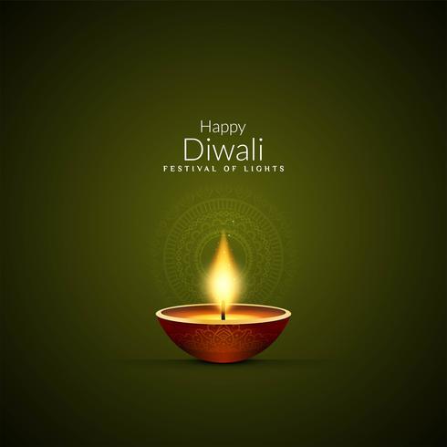 Abstrakt Happy Diwali festival bakgrund