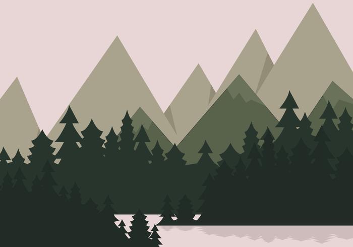 Bergsee Landschaft