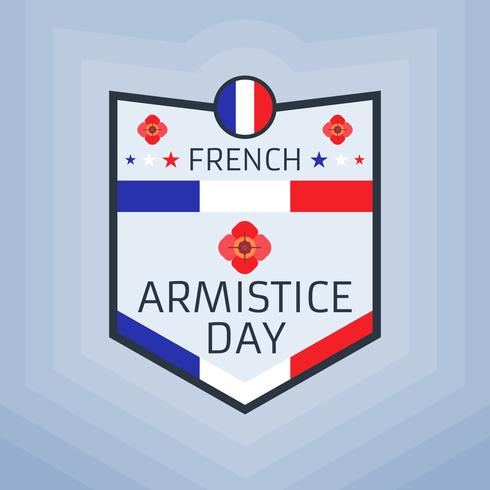 Vettori di giorno di armistizio francesi eccezionali