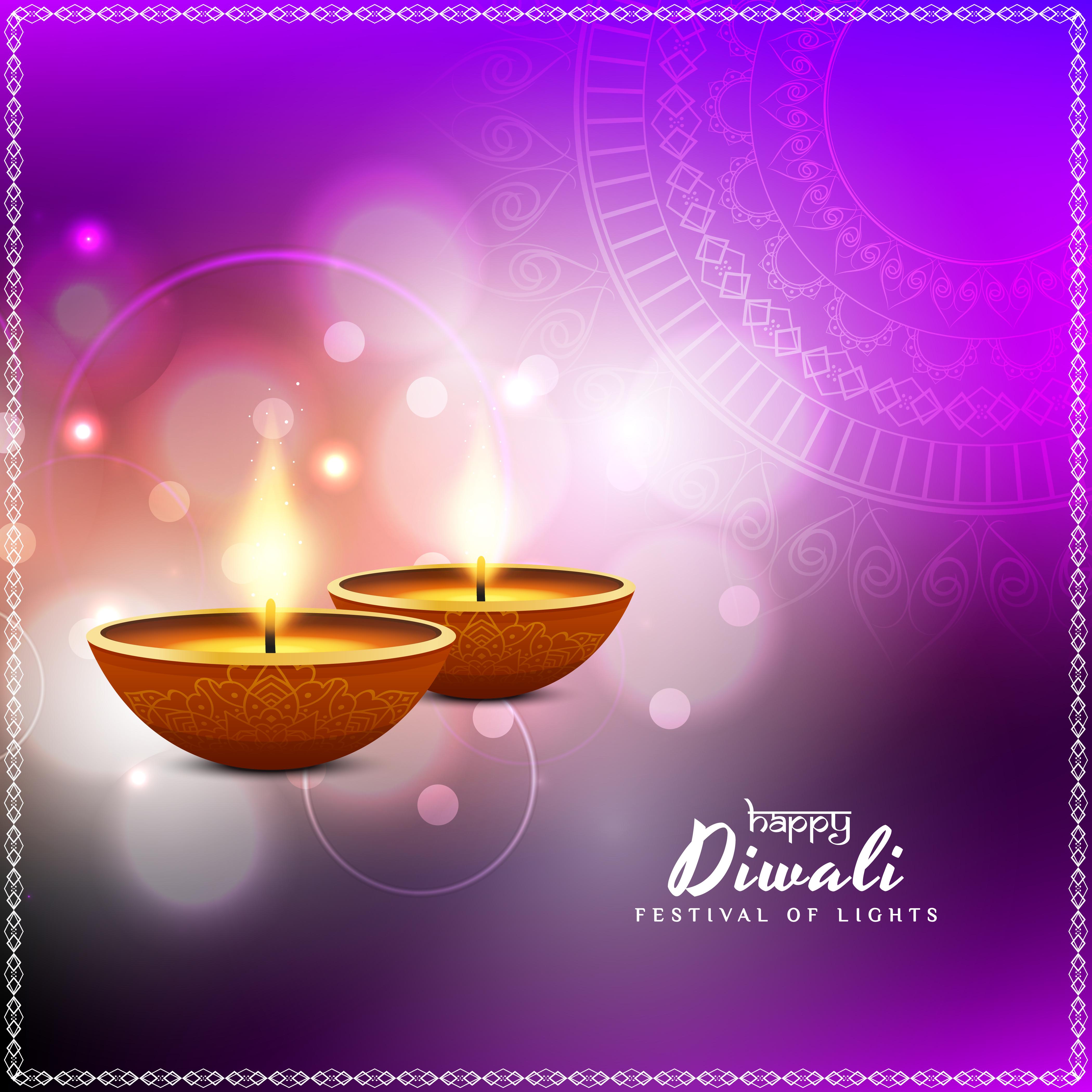 abstract beautiful happy diwali festival greeting