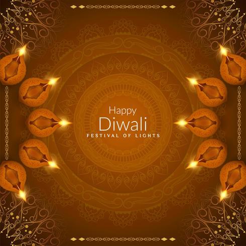 Abstrakter glücklicher religiöser Hintergrund Diwali