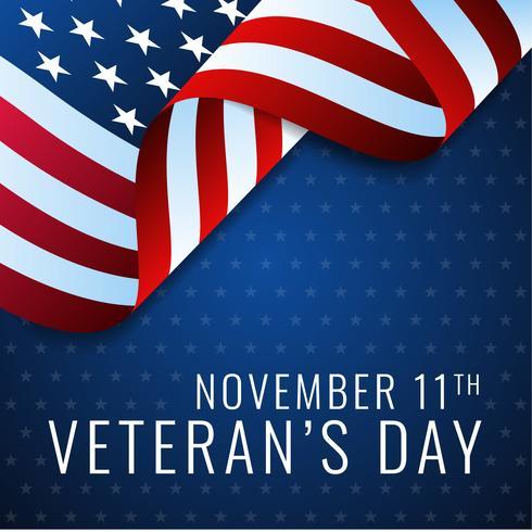 USA Veterans Day Design Template vector