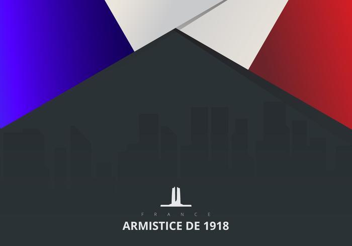 Frankreich abstrakte Flagge und schwarzer Hintergrund. Französische Flagge. vektor