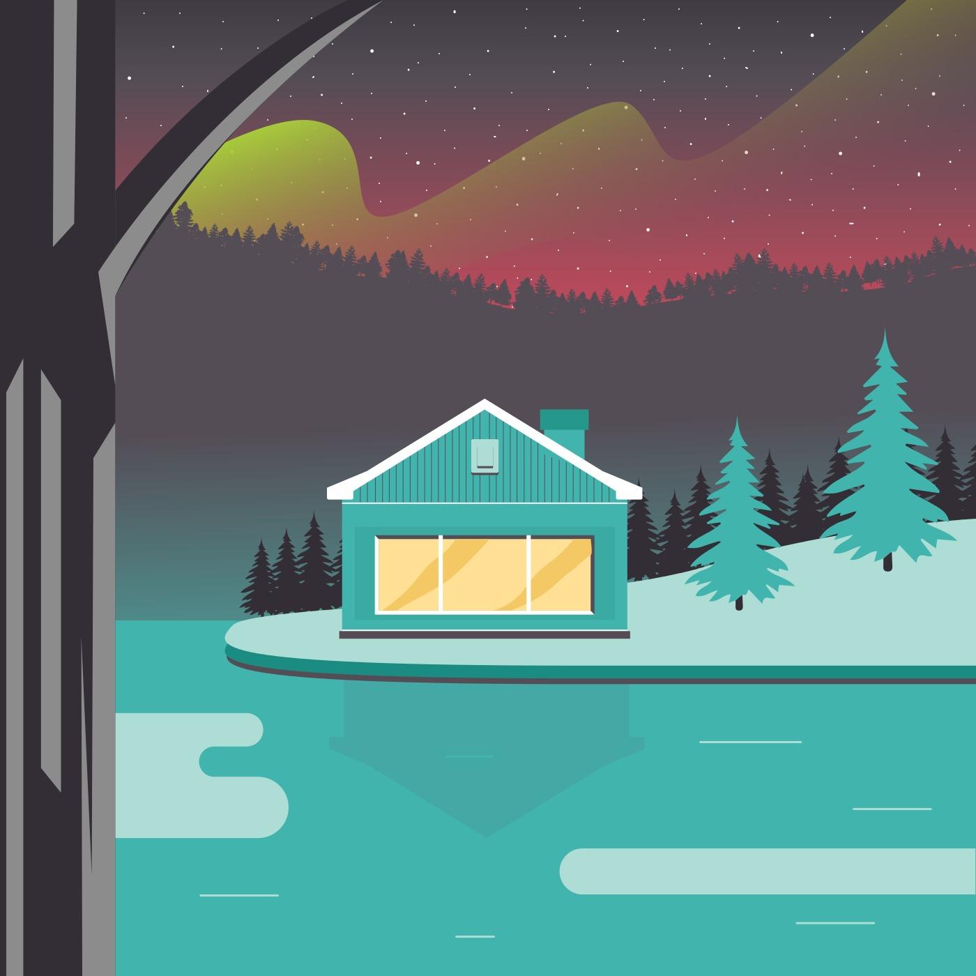 Lodge Free Vector Art