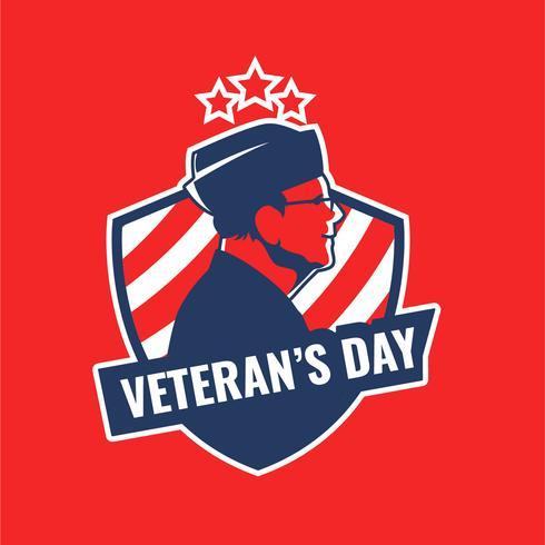 giorno dei veterani vettore