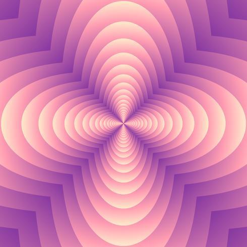 Fondo geométrico abstracto de la forma del trébol de la mezcla