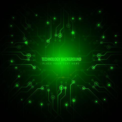 Abstrakte Technologiehintergrund-Designillustration