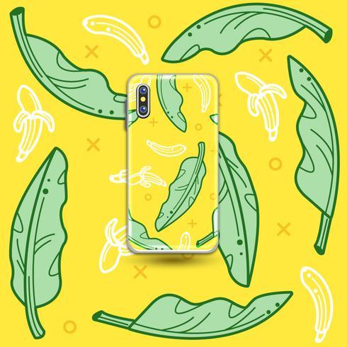 Bananenblatt vektor
