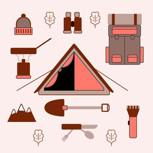 Engrenagem de acampamento