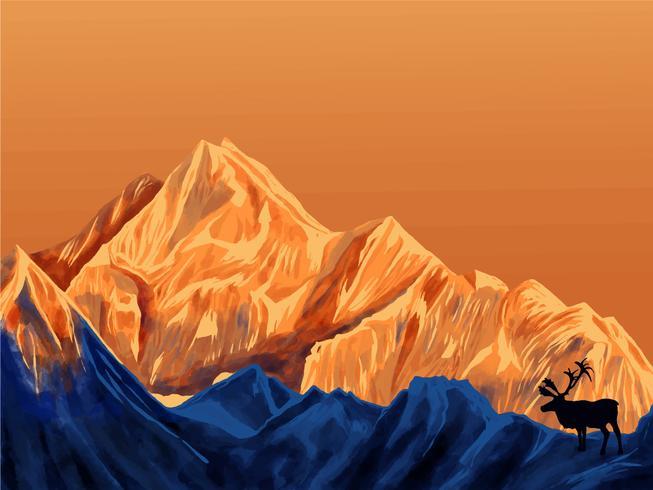 Paisaje de montaña en primera persona 7