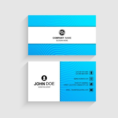 Creative and clean vector business card template design download creative and clean vector business card template design fbccfo Images