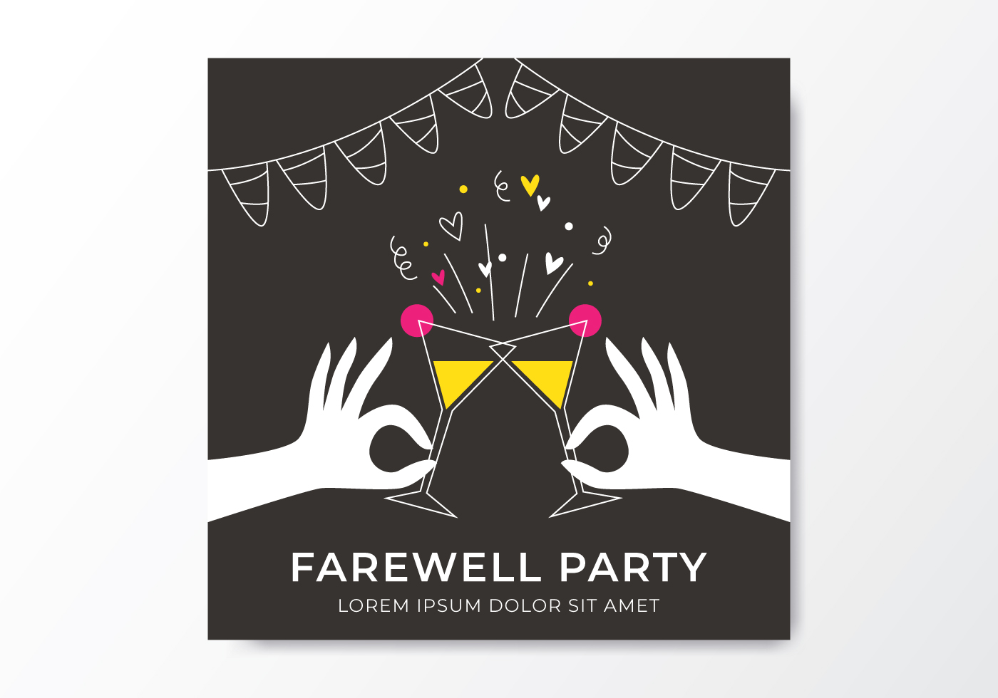 Farewell Party Invitation - Download Free Vectors, Clipart ...