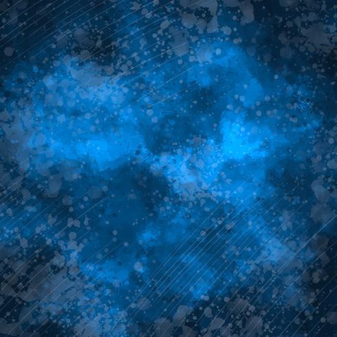 Vector azul acuarela de fondo