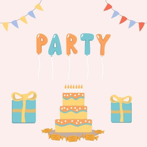 Hora de la fiesta de cumpleaños