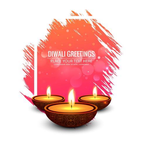 Beautiful greeting card for festival of diwali celebration beautiful greeting card for festival of diwali celebration m4hsunfo