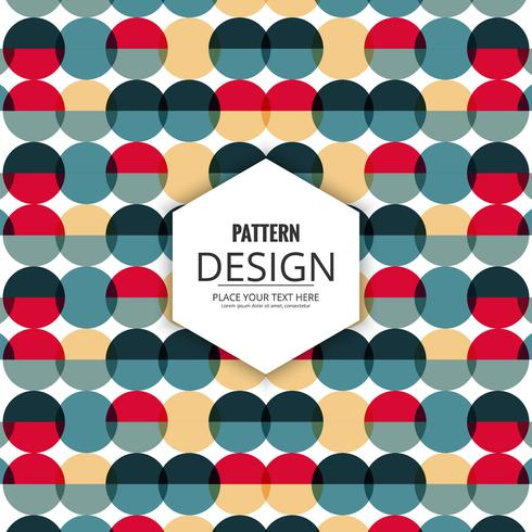 Abstract decoratief naadloos patroonontwerp
