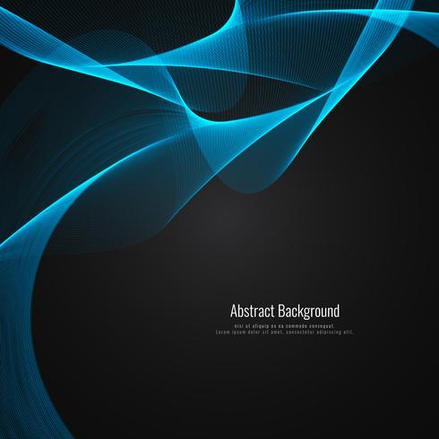 Stilvoller Hintergrund der abstrakten eleganten Welle