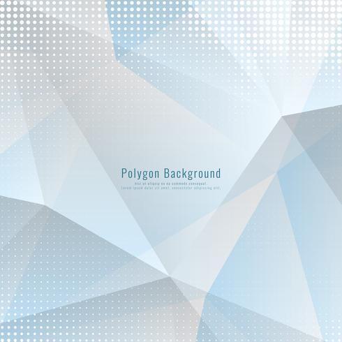 Abstrakter moderner geometrischer polygonaler Hintergrund