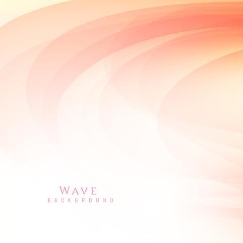 Fondo rojo elegante abstracto de la onda