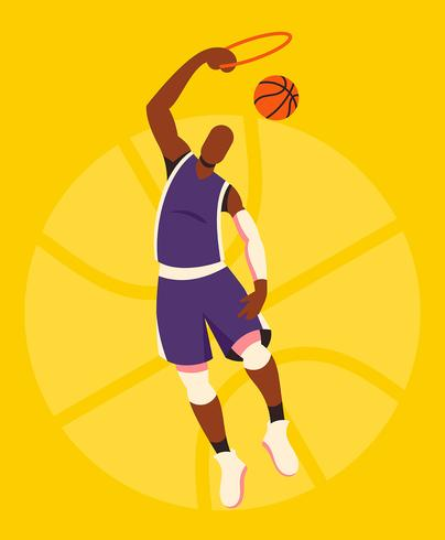 Basketball-Illustration