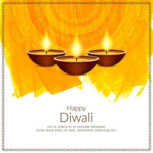 Fondo abstracto hermoso festival feliz Diwali
