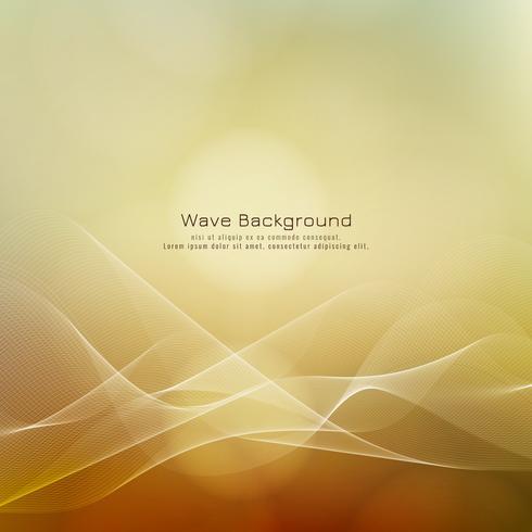 Bunter stilvoller Hintergrund der abstrakten Wellenart