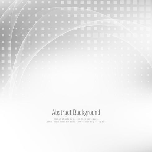 Abstracte grijze kleur stijlvolle golf achtergrond