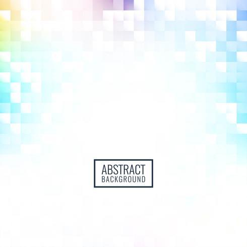 Abstracte kleurrijke mozaïekachtergrond