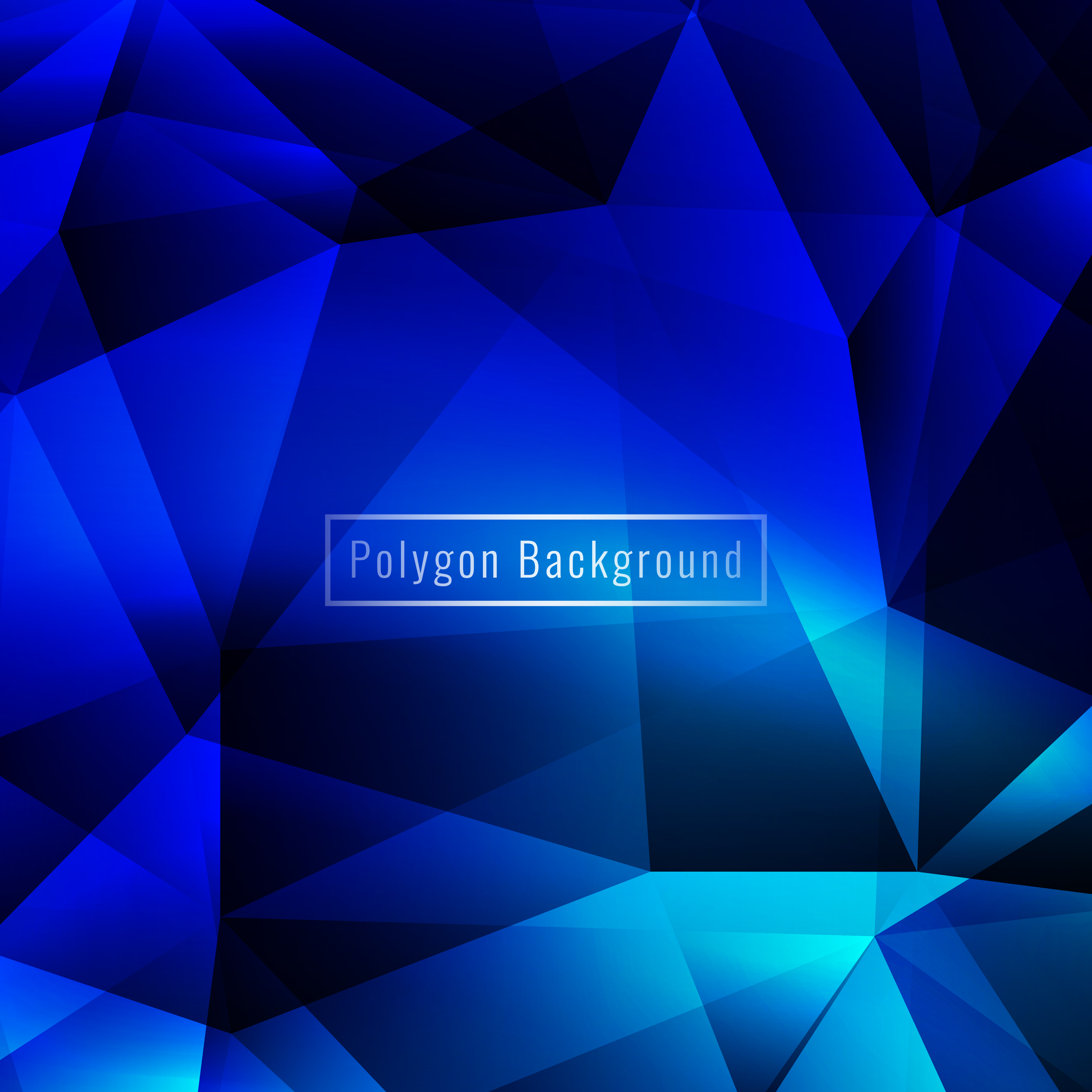 Abstract Colorful Geometric Polygon Modern Background