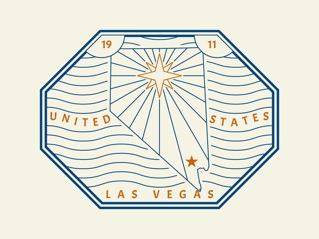 Vackra Las Vegas vektorer