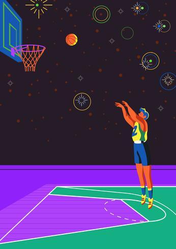 Tiro libre de baloncesto