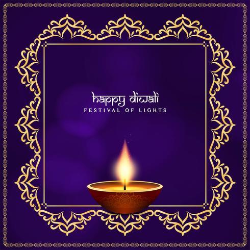Abstracte Gelukkige Diwali-godsdienstige achtergrond