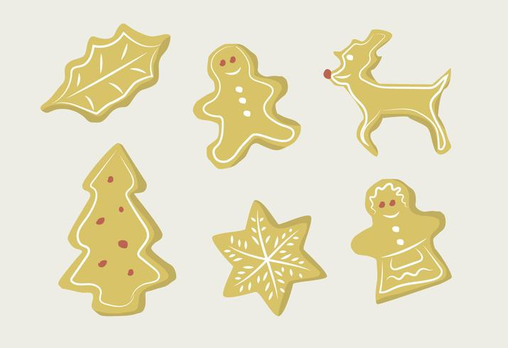 Ginger Biscuits vector