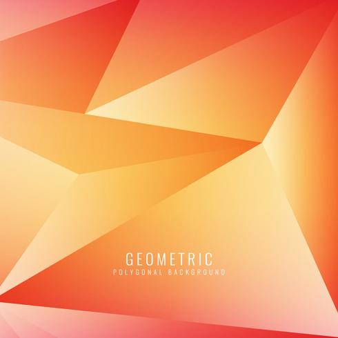 Abstracte moderne geometrische veelhoekige achtergrond