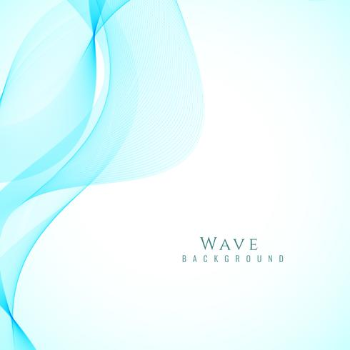 Abstract stylish wave modern background