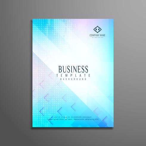 Abstract business flyer sjabloonontwerp