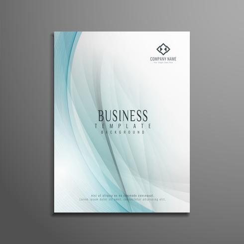 Progettazione astratta del modello dell'aletta di filatoio di affari di progettazione dell'onda