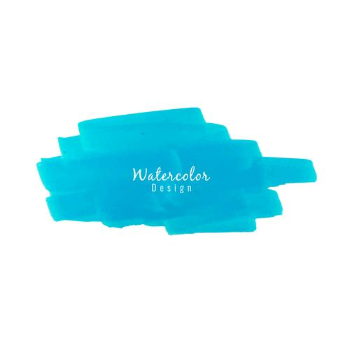 Abstract modern watercolor design background vector