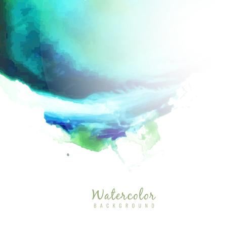 Abstract modern watercolor design background