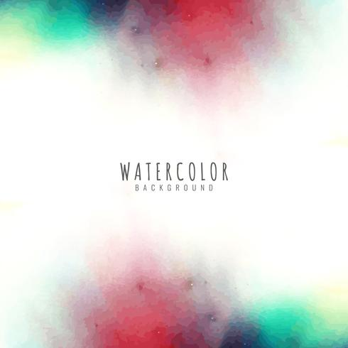 Abstract watercolor design background