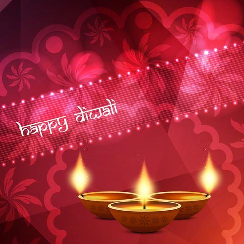 Fundo abstrato religioso feliz Diwali