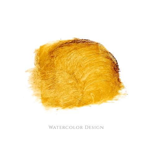 Abstract watercolor design background vector