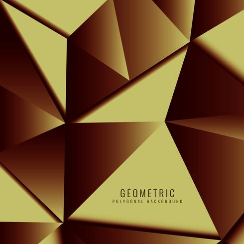 Abstract modern geometric polygonal background vector