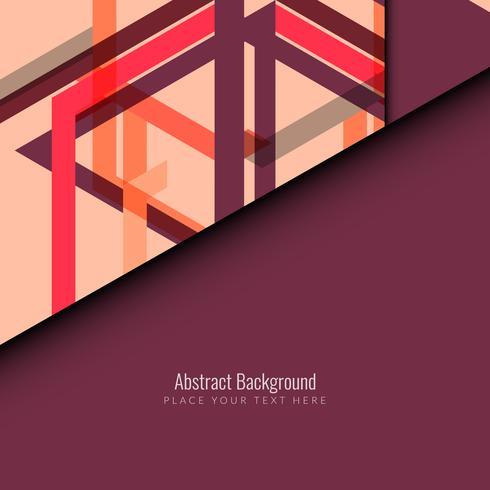 Abstrait coloré rétro géométrique