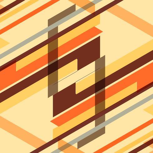 Fundo geométrico retrô colorido abstrato