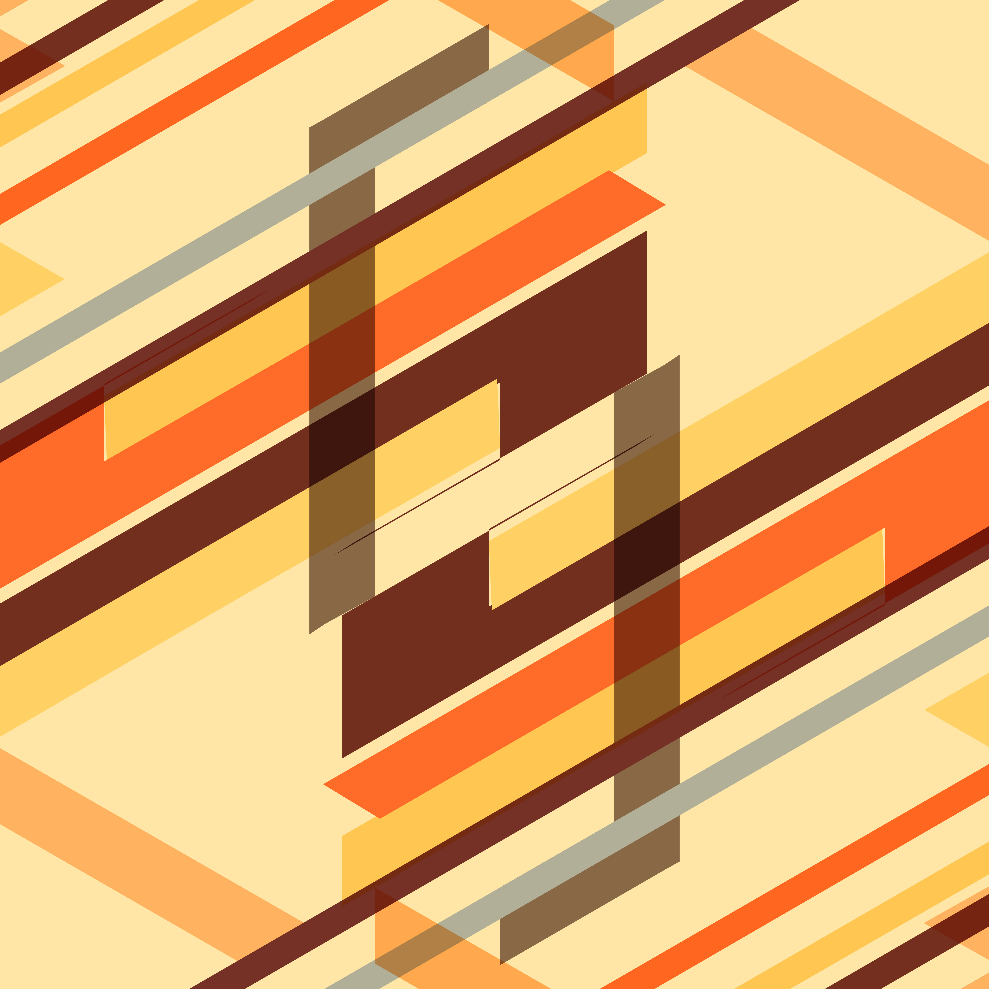 Abstract Colorful Retro Geometric Background