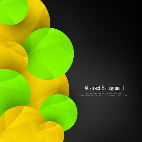 Abstracte geometrische cirkelsachtergrond