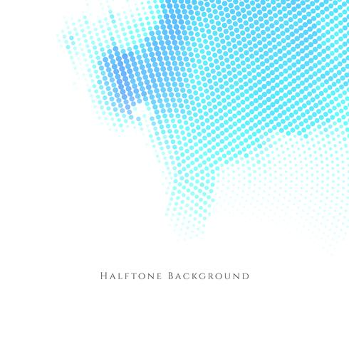 Abstract modern halftone background vector