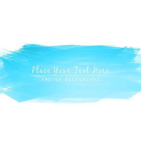 Résumé coloré bleu aquarelle accident vasculaire cérébral conception fond illus