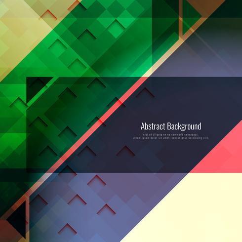 Abstract modern geometric polygonal background